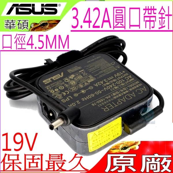 ASUS 19V,3.42A,65W 原廠 -PU551LD,B2830UA,BU201LA,B400VC,B400A,BU400A,BU400VC,ADP-65GD,P1448,P1448U