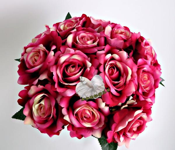 人造 單枝玫瑰花 仿真玫瑰 假玫瑰花☆插花.居家.店面.櫥窗.玄關.大廳擺飾.園藝☆