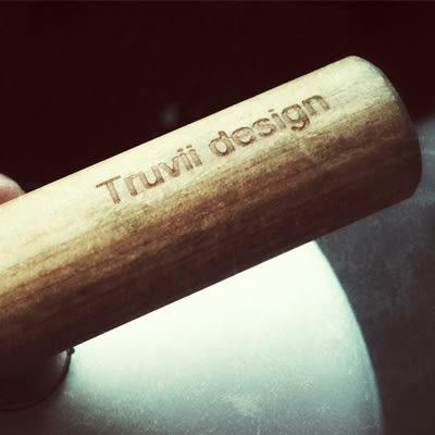 丹大戶外【Truvii】木柄琺瑯杯 客製手把刻字加購區