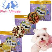 【培菓平價寵物網】Pet Village》健康營養犬用零食1包(14種口味)