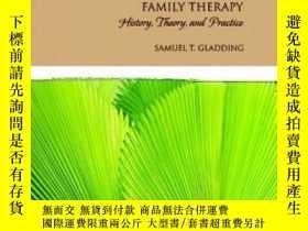 二手書博民逛書店Family罕見Therapy: History Theory