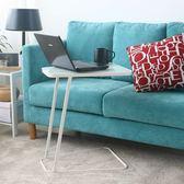 現代簡約美式角幾沙發創意小邊幾可移動邊櫃迷你小茶幾床頭桌方桌WY