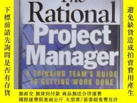 二手書博民逛書店英文原版罕見The Rational Project Manag