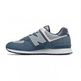 New Balance 男款淺藍色經典復刻鞋-NO.ML574SPI