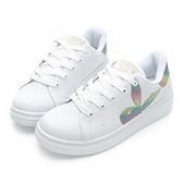 PLAYBOY Unicorn 幻彩兔兔小白鞋-白彩(Y7215)