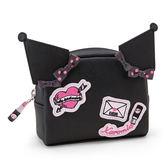 《Sanrio》酷洛米時尚甜心系列尖耳造型PU皮革化妝包★funbox生活用品★_787612N