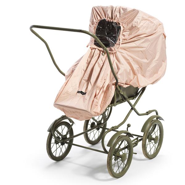 防雨罩 瑞典皇室御用 Elodie Details 嬰兒車手推車 摺疊防雨罩 (附收納袋) - 裸粉色 103763