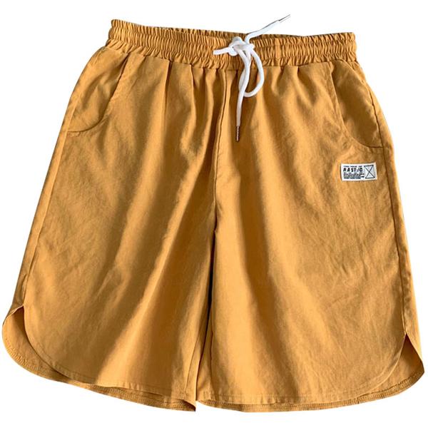 海灘褲 男士加肥加大碼胖子寬鬆夏季五分短褲薄款運動沙灘褲潮流休閒褲子 夢藝