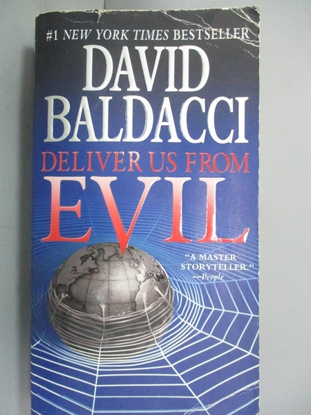【書寶二手書T8/原文小說_OHR】Deliver Us from Evil_Baldacci, David