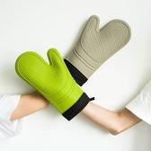 抗熱手套  家用加厚隔熱防燙硅膠手套微波爐烘焙耐高溫手套