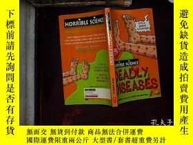 二手書博民逛書店Deadly罕見Diseases (Horrible Scien