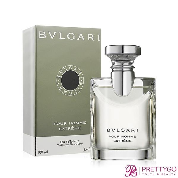 BVLGARI 寶格麗 大吉嶺極致男性淡香水 Pour Homme Extreme(100ml) EDT-公司貨【美麗購】