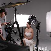 攝影燈 鑫威森LED150W影視聚光燈 調光攝像攝影燈光雙色溫補光燈替代鏑燈 igo阿薩布魯