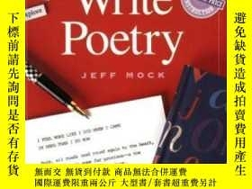 二手書博民逛書店You罕見Can Write PoetryY255562 Jeff Mock Writer s Digest