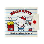 【震撼精品百貨】Hello Kitty 凱蒂貓~PVC卡片收納夾(條紋小物)59397