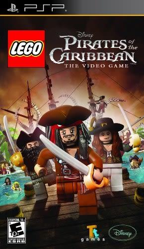 PSP LEGO Pirates of the Caribbean 樂高神鬼奇航(美版代購)