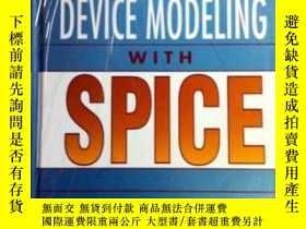 二手書博民逛書店Semiconductor罕見Device Modeling W