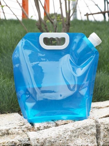戶外便攜摺疊水袋登山旅游露營塑料軟體蓄水囊裝水桶大容量儲水袋 格蘭小鋪