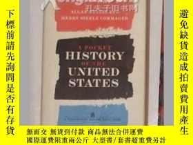 二手書博民逛書店《罕見A Pocket History of the Unite