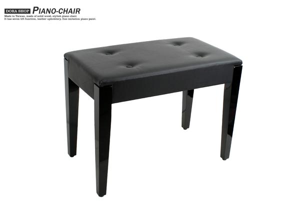 小叮噹的店- 鋼琴椅 台製 鋼琴亮漆 A060 固定式