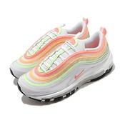 Nike 休閒鞋 Wmns Air Max 97 ESS 白 粉紅 粉色系 女鞋 復古慢跑鞋 運動鞋【ACS】 CZ6087-100