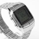 CASIO卡西歐 方形銀色電子手錶【NEC7】原廠公司貨