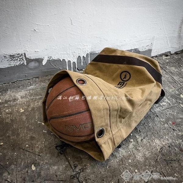 後背包 男士帆布背包雙肩包戶外休閒簡約旅行健身輕便運動大容量學生書包 西城
