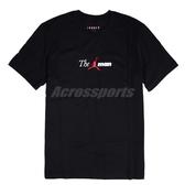 Nike 短袖T恤The Man Tee 黑 白 男款 喬丹 飛人 純棉 【PUMP306】 AO0685-010