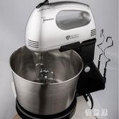 臺式家用電動打蛋攪拌器 烘焙蛋糕自動打蛋機和面機迷你打奶油帶桶 BT11015『優童屋』