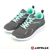 【AIRWALK】活力律動運動鞋-灰色-女款-