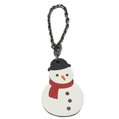 HERMES 愛馬仕 Snowman Key chain 雪人造型吊飾鑰匙圈 【二手名牌BRAND OFF】