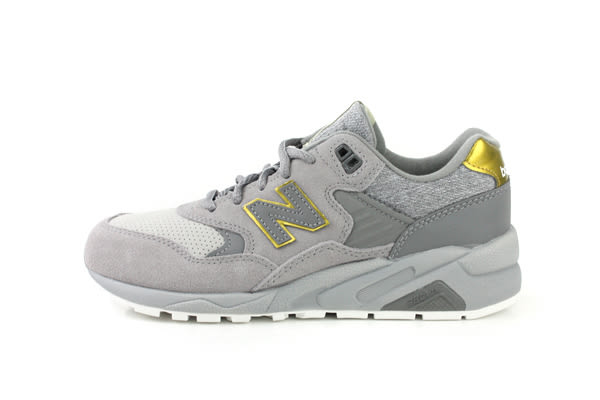 NEW BALANCE 580系列 復古鞋 運動鞋 麂皮 避震 灰色 女鞋 WRT580JB no155