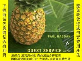 二手書博民逛書店Guest罕見Service in the Hospitality IndustryY410016 Paul