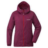 Mont-bell 日本品牌 防曬 抗風 潑水 連帽 透氣外套 (1103243 RAS 紫紅 ) 女