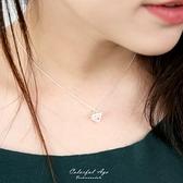 銀飾 雕花幾何菱形純銀項鍊NPB109