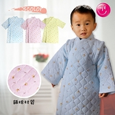 台灣製 長版三層鋪棉和服 三層舖棉 大號 印花 日本和服 寶寶冬季外套 禦寒12-36M【GD0126】