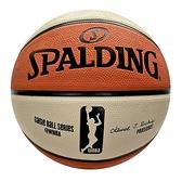 Spalding WNBA [SPA83382] 籃球 6號 女子 室外 橡膠 耐磨 室外 橘米