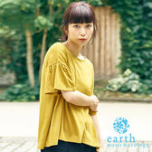 ❖ Hot item ❖ 素面圓領喇叭袖上衣 - earth music&ecology