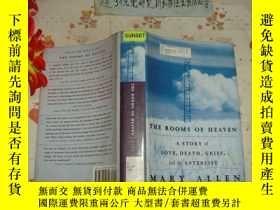 二手書博民逛書店英文原版《THE罕見ROOMS OF HEAVEN》文泉英語類精