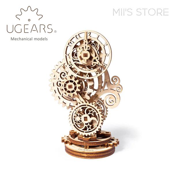 UGEARS 木製自走模型 - 蒸氣龐克鐘 Steampunk Clock