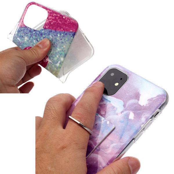 小米 紅米 Note7 紅米Note6 Pro 大理石支架 手機殼 全包邊 軟殼 支架 保護殼