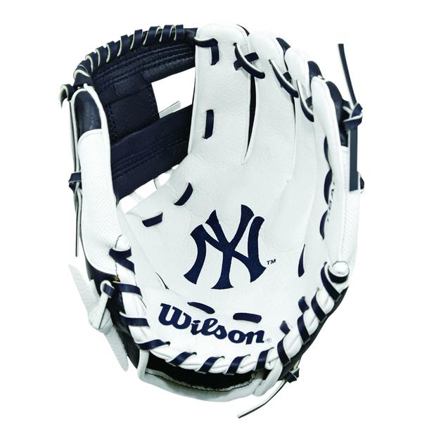 【LAKEIN運動網】║Wilson║紐約洋基款兒童手套