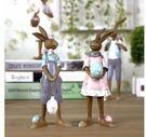 可愛兔子樹脂工藝品(一個價)(圖一)-E8W5