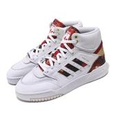 adidas 休閒鞋 Drop Step CNY 白 紅 金 男鞋 中國新年 運動鞋 高筒 【PUMP306】 FW5326