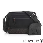 PLAYBOY- 斜背包 Downtown系列-黑色