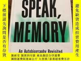 二手書博民逛書店Speak,罕見MemoryY110532 Vladimir N