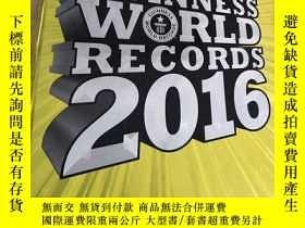 二手書博民逛書店Guinness罕見World Records 2016(德語原