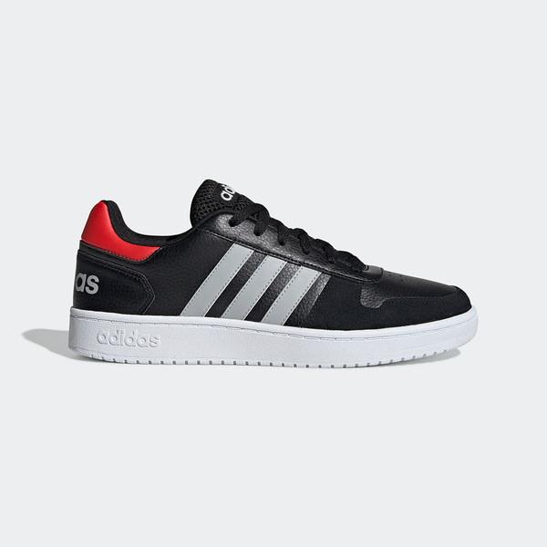 Adidas NEO Hoops 2.0 [EE7800] 男鞋 運動 休閒 慢跑 路跑 健身 基本 穿搭 愛迪達 黑灰