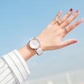新品休閒簡約手錶高中學生女孩時尚大氣正韓潮流防水
