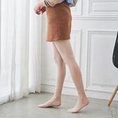 啞光T檔天鵝絨防勾絲高彈微壓褲襪 (純白色)